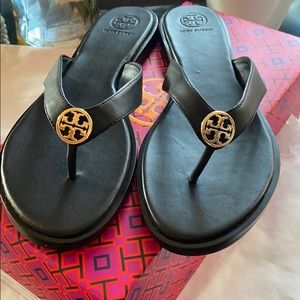 Tory Burch Benton Thong leather sandals